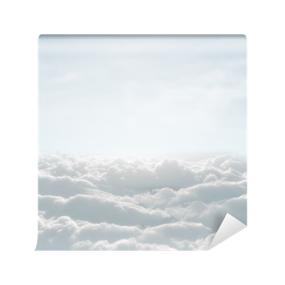 High definition skyscape with clouds wall mural pixers for Definition mural