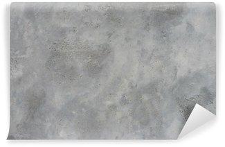 High resolution rough gray textured grunge concrete wall, Wall Mural - Vinyl
