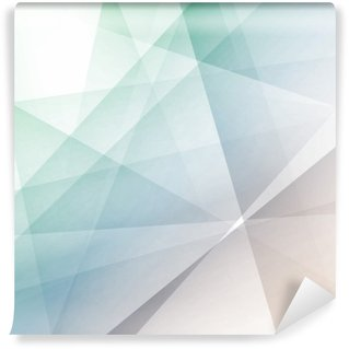 Hipster modern transparent geometrical background Wall Mural - Vinyl