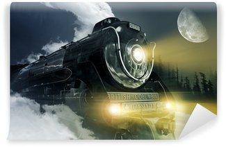 Wall Mural - Vinyl Hudson Steam Locomotive