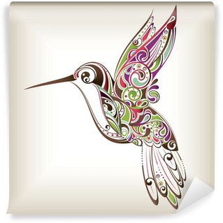 Wall Mural - Vinyl Hummingbird