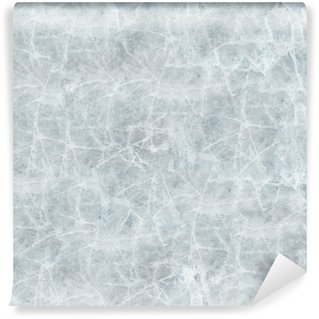 Ice cover seamless texture. Wall Mural - Vinyl