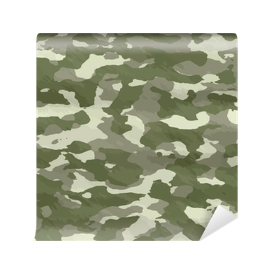 Illustration of disruptive camouflage material wall mural for Camouflage mural