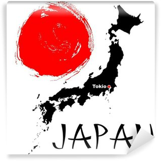 Wall Mural - Vinyl Japan theme illustration