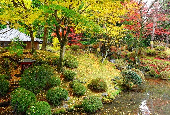 Wall Mural   Vinyl Japanese Garden   Themes