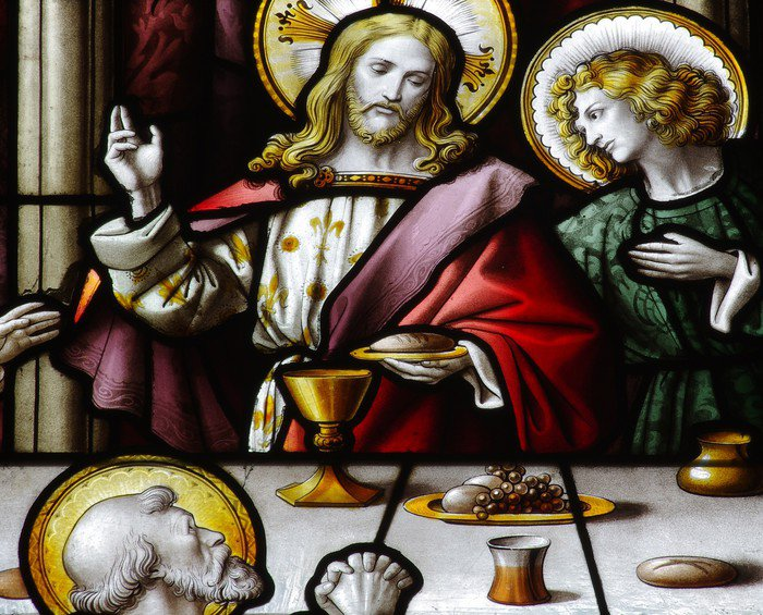 Wall Mural   Vinyl Jesus During The Last Supper   Themes Part 46