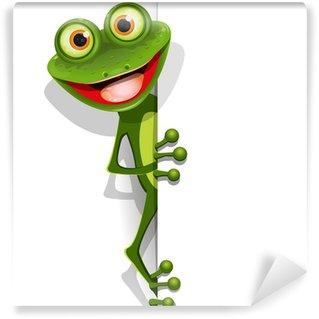 Wall Mural - Vinyl jolly green frog