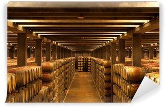 Wall Mural - Vinyl La Rioja Wine Barrels