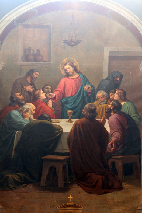 Last Supper Wall Mural   Vinyl   Buildings And Architecture Part 35
