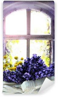 Vinyl Wall Mural Lavendel