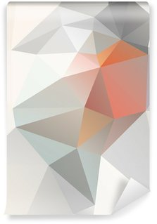 Light Geometric background vector eps 10 Wall Mural - Vinyl