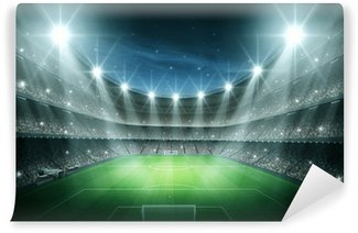 Vinyl Wall Mural Light of stadium