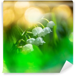 Lilly of the valley Wall Mural - Vinyl