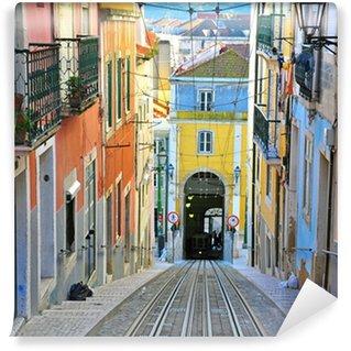 Wall Mural - Vinyl Lisbon funicular Bica