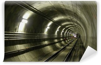 Wall Mural - Vinyl lrt tunnel