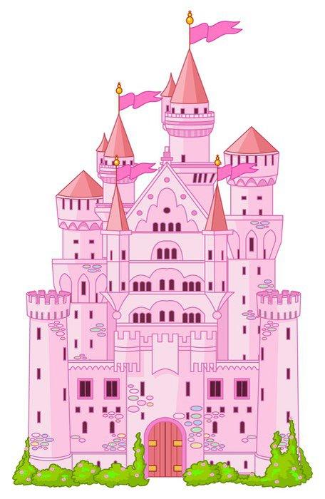 Wall Mural   Vinyl Magic Princess Castle   Other Feelings