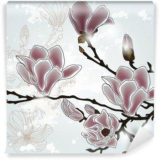 magnolia branch Wall Mural - Vinyl