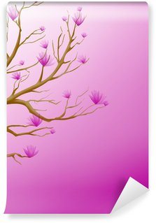 Magnolie Wall Mural - Vinyl