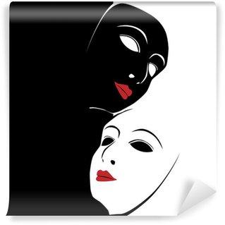 Wall Mural - Vinyl Mask