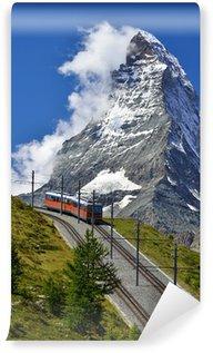 Wall Mural - Vinyl Matterhorn railway from Zermatt to Gornergrat. Switzerland