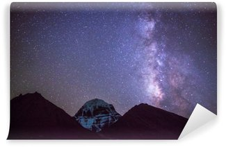 Milkyway on the Mt.Kailash in Tibet Wall Mural - Vinyl