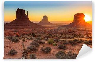 Monument Valley twilight, AZ, USA Wall Mural - Vinyl
