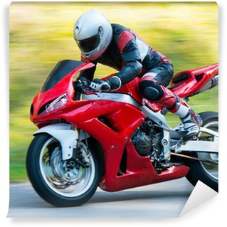 Motorbike racing Wall Mural - Vinyl