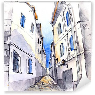 narrow street (series C)