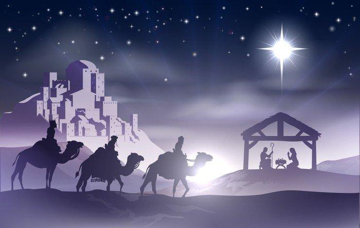 Exceptional ... Wall Mural Vinyl Nativity Christmas Scene Christmas Part 14
