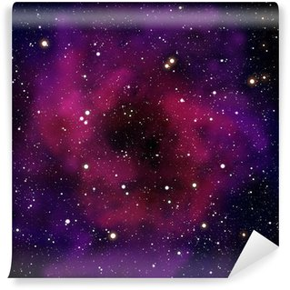 Nebula and star in the space area Wall Mural - Vinyl