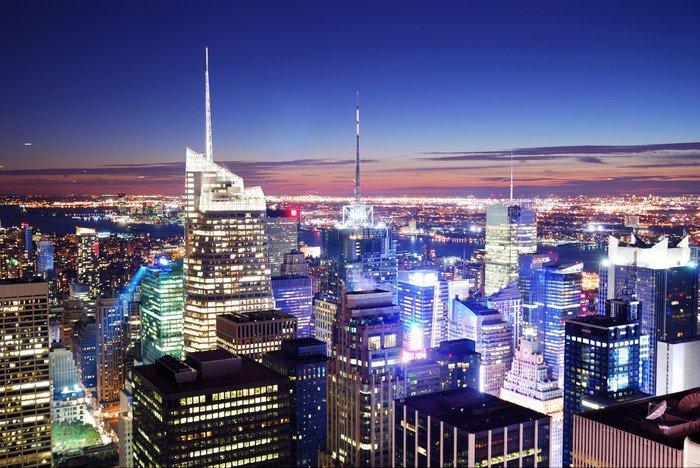 Wall Mural   Vinyl New York City Manhattan Times Square   America Part 39