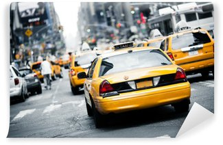 Wall Mural - Vinyl New York taxi
