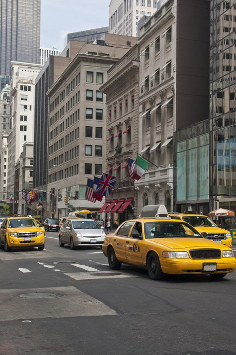 Wall Mural   Vinyl New York   Taxi   Themes Part 17