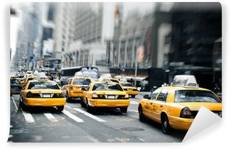 Wall Mural - Vinyl New York taxis