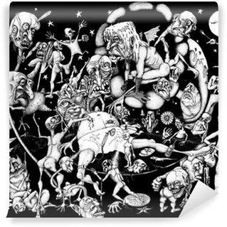 Wall Mural - Vinyl Nightmare