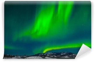 Wall Mural - Vinyl Northern Lights (Aurora borealis)
