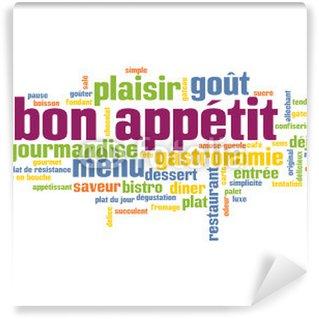 """Nuage de Tags """"BON APPETIT"""" (gastronomie restaurant dessert)"""