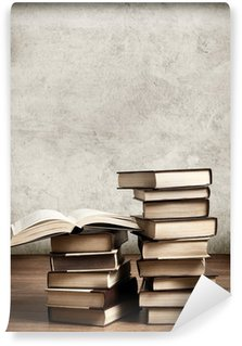 Wall Mural - Vinyl Old books