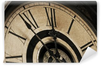 Old Grandfather Clock Soon to Strike Midnight