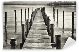 old wooden jetty Wall Mural - Vinyl