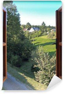 Open window Wall Mural - Vinyl
