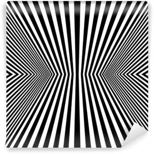 Vinyl Wall Mural Optical Art Rhombus Seamless Pattern