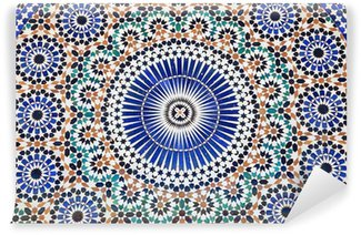 Oriental mosaic in Morocco, North Africa Wall Mural - Vinyl