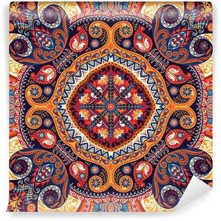 Wall Mural - Vinyl Paisley kerchief vector pattern