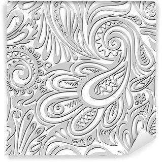 Paisley seamless pattern Wall Mural - Vinyl