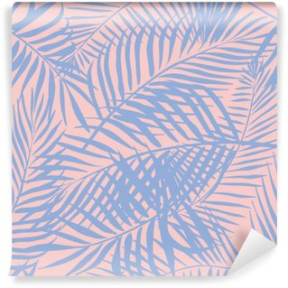 Wall Mural - Vinyl palm pattern