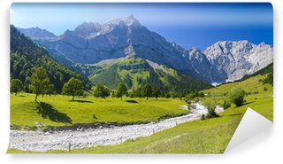 Wall Mural - Vinyl Panorama Landschaft in Bayern