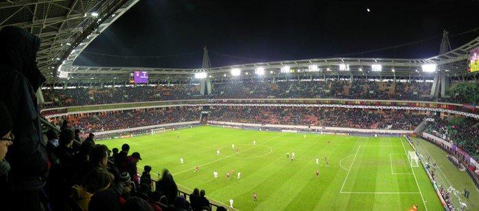 Wall Mural   Vinyl Panorama Of Football Stadium   Team Sports