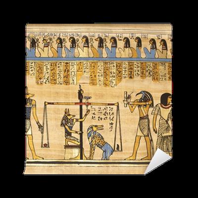 Papiro egipcio wall mural pixers we live to change for Mural egipcio