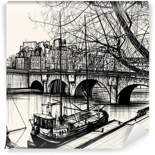 Wall Mural - Vinyl Paris - Ile de la cite - Pont neuf